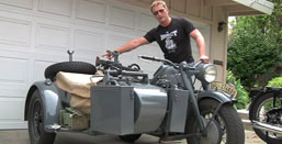 1942 Zundapp KS750 with Sidecar