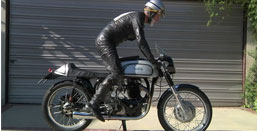 1956 Norton Dominator Kick Start