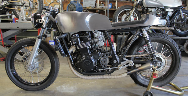 Twinline Motorcycles The Thorn