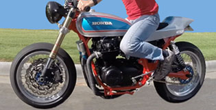 1975 CB550 Cafe Racer