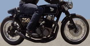 1977 CB750 Cafe Racer