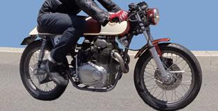 1969 SL350 Cafe Racer