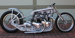 Twin Engine Triumph Dragster