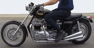 1500cc 120hp Triumph Bonneville
